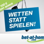 Live Sportwetten bei Bet at Home