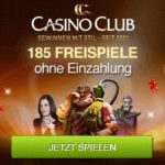 185 Freispiele und 2000 Euro im Casino Club