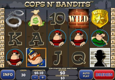 Der Geldspielautomat Cops and Bandits