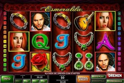 Spielautomat Esmeralda