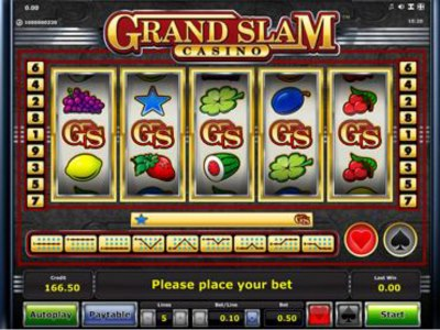 Grand Slam Casino Spielautomat