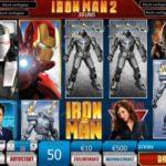 Der Geldspielautomat Iron Man 2 mit 50 Gewinnlinien im Online Casino