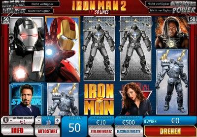 Der Geldspielautomat Iron Man 2
