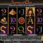 Der Geldspielautomat Sceptre of Cleo im Deutschen Online Casino