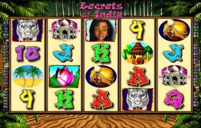 Der neue Spielautomat Secrets of India