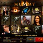Der Geldspielautomat The Mummy im EuroGrand Online Casino