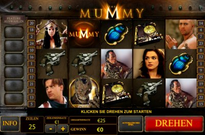 Der Geldspielautomat The Mummy