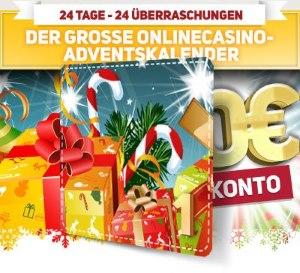 Weihnachtszeit im Online Casino Europa
